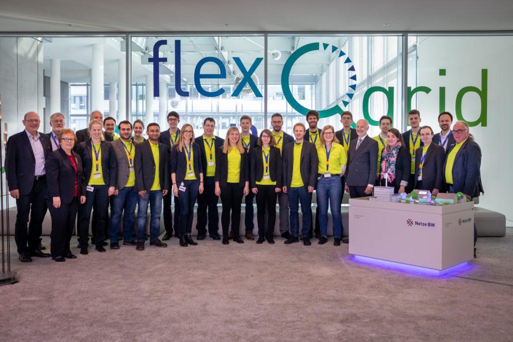 Gruppenfoto Projektteam flexQgrid
